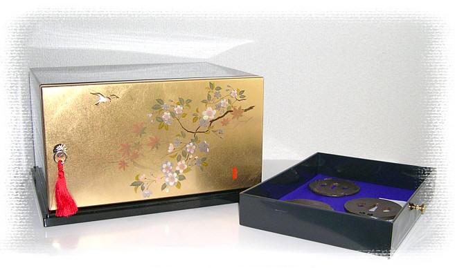 Японская шкатулка для коллекции с
