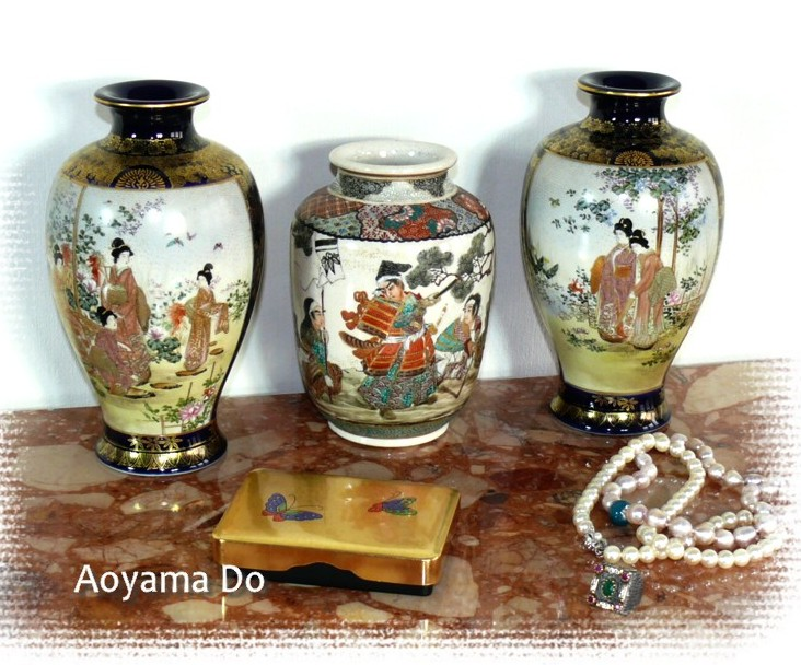 Японские вазы
